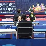 2017 ITTF 월드투어 코리아오픈국제탁구대회 화보