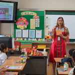 화성 행정초, 다누리 강사 초청 러시아·중국 생활상 등 수업