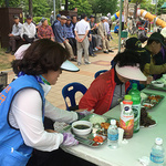 인천시 공무원 코스모스 봉사단, 사랑의 밥차 봉사활동 진행