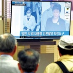 박근혜 전 대통령 첫 재판 출석… 엇갈린 시민 반응