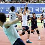 한국 남자배구, 핀란드 꺾었다… 월드리그 2그룹 1주차 '2승1패'