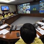 이낙연 총리-남 지사,AI관련 영상회의