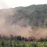 파주 민통선 지역서 지뢰 폭발… 굴삭기 전복돼 작업 중 운전자 중상