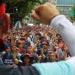 한국지엠 노동자들, 고용 불안 해결책 촉구