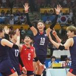 한국 여자배구 '끝을 보겠다'