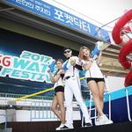 위즈파크가 워터파크네 kt, 안방서 물 만난 축제