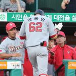 발목 다친 한동민 시즌 아웃… SK '발목 잡힌 타격'