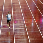 세계육상선수권 남자 200m '나 혼자 뛴다'