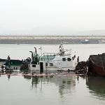 화성 궁평항서 36t급 예인선 침몰…선저페수 유출