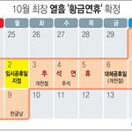 최장 10일간 '황금연휴' 중기 근로자 그림의 떡