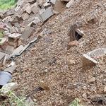 농지에 버린 건설폐기물 '비양심'에 토지주 '분통'