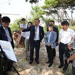 화성시의회 행자위, 글로벌센터 건립 사업 예정지 현장방문