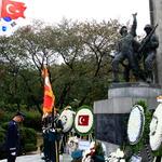 한국전 참전 터키 군몰장병 위로