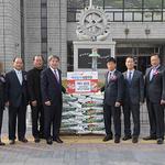 동두천시 농업경영인연합회, 직접 수확 쌀 기부