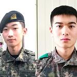 육군 55사단 조민준·윤창식 상병, 미술대전 상금 선배 전우에 기부