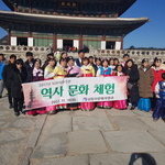 북한이탈주민 경복궁 나들이로 '웃음꽃'