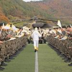 수리온 헬기에 실린 '평창 성화'…신안군 1004개의 섬 위를 순회하다