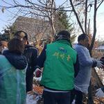 연천군 청산면 새마을지도자, '사랑의 연탄' 2천 장 기부 배달 봉사
