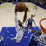 NBA 클리블랜드, 8연승 덩크슛