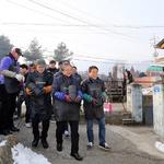 포이보스 연예인골프단, 연천군 어려운 가정에 연탄 1만장 전달
