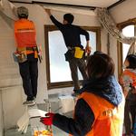 평택시자원봉사센터, 포항 지진피해 집수리 봉사