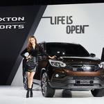 오픈형 '렉스턴 스포츠' SUV 혈통 잇는다