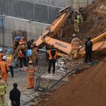 용인 물류센터 붕괴는 흙막이 부실 해체 탓