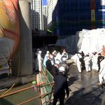 경찰 '광교 공사장 화재' 10명 추가 조사 계획