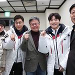 채인석 화성시장, 동계올림픽 출전 서이라 선수 격려