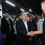 바흐 IOC 위원장 방한 올림픽 최종 점검 시작