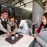 인천공항 빛내는 '실버카페' 오픈