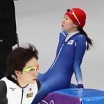 라이벌과 스치듯 안녕… '인코스 출발' 단련하고 온 이상화, 결전지 강릉서 첫 몸풀기