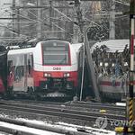 오스트리아에서 열차 충돌. '위험 천만'... 미국과 남아공에서도