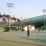 시민 이용 제한된 테니스장서 불법 교습