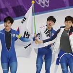 남자 빙속 팀추월, 2개 대회 연속 銀…이승훈 3회 연속 메달