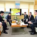 김낙순 한국마사회장, 아시아경마연맹 회장 만나 협력관계 구축