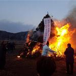 연천군 청산면 백의1리, 마을안녕 및 남북 평화기원 대보름행사 개최
