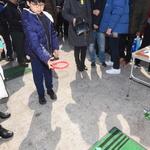수원 남문시장서 평창 동계패럴림픽 홍보