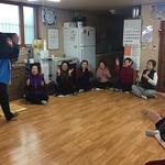 의정부시 송산권역 HAPPY매니저, 튼튼한 노년 건강을 위한 치매예방 교육 실시
