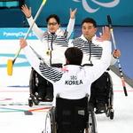 예선 1위 휠체어컬링, 오늘 결승행 도전 장애인 아이스하키 내일 동메달 결정전