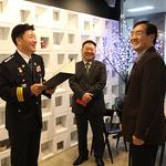 남양주경찰서, 다자녀 가정 직원 배우자에게 감사장 수여