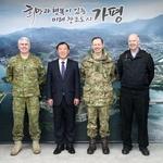 한국전쟁 참전 '영연방 4개국' 혈맹 강화 가평군 英 무관 등과 추모행사 관련 논의