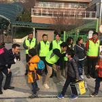 남양주경찰서, 개그맨 김대희와 등굣길 안전활동 전개