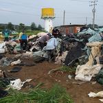 연천군 군남면 행정복지센터, 영농폐기물 집중 수거