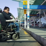 20㎝ 문턱에 막혀 휠체어 진입도 못하는 12년 '세계공항서비스 1위' 인천국제공항