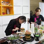 서울현대 푸드스타일리스트 과정, 명인 강은숙 교수 특화수업 '눈길'