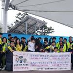 청소년들 '안전한 동네' 만들기 솔선 인천 연안파출소 합동순찰 캠페인