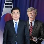 내달 중순 한미정상회담…정의용·볼턴 '한반도 비핵화 조율'