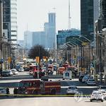 토론토 차량돌진 , 사이코패스인가 인면수심인가 , 조준하듯 치었나