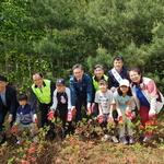 농협성남사랑봉사단 '꽃길 가꾸기' 행사